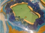 Resin Geode class at KILN CREATIONS