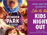 Kids Night Out Pizza Party- Wonder Park Movie Theme