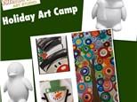 Art Camp for kids Christmas break