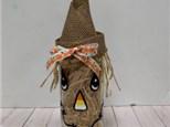 Scarecrow Bottle Craft Class! 10.25.19