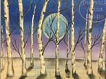 Winter Dusk Canvas! Saturday, November 24th @ 6pm