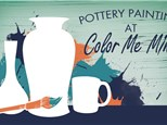 Free Mug with $25 purchase on International Pottery Painting Day!