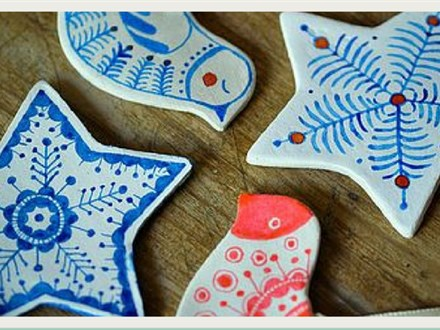 All Ages Class: Handmade Clay Ornament Making!