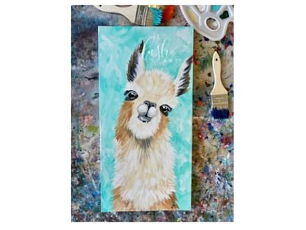 Alpaca Paint Class