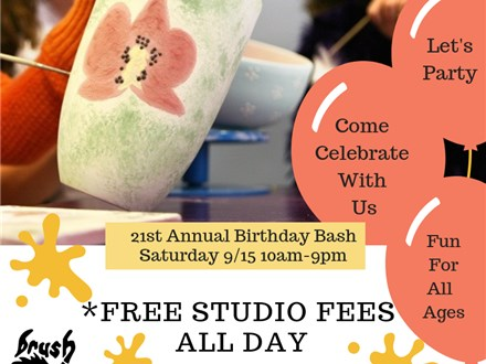 21st Annual Brushfire Birthday Bash