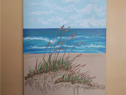 Beach Painting with Toni 8/25 2-5PM