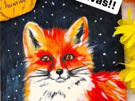 Art Club Week 4 Fall Fox
