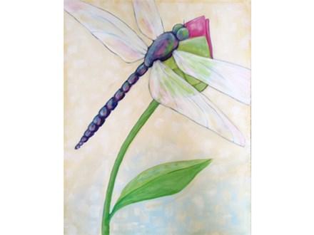Dragonfly - 16x20 canvas