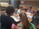 """Students play """"Where's My Place""""© to hone their place value skills."""