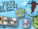Art After School: the Toys are Back - Esmond Station - Aug/Sept