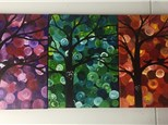 Circle Tree (adult) Canvas Class
