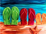 Canvas Night Flip Floppin' Saturday, June 24th 7-10pm