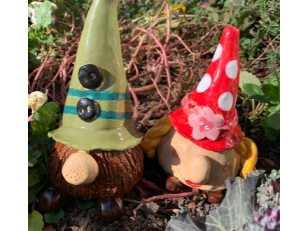 """""""Gnomeo and Juliet"""" Clay"""