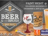 Paint Night @ Dillinger Brewing Co: December 2, 2017 @ 3pm