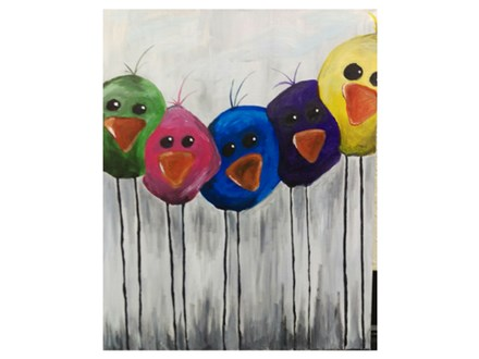 Little Birdies - Paint & Sip - Nov 10