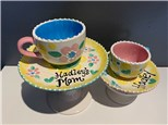 """Open Air Art in the Park: """"Mom & Me Tea Cups/Saucers"""", 8/22/20"""