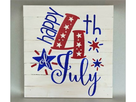 4th of July Wood Painting 06/20