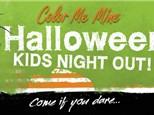 Kids Halloween Paint Party!