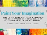 10/23 Paint your Imagination 7:30 PM $35