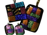 Fused Glass Dichroic Jewelry Class