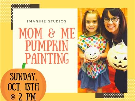 Mom & Me Pumpkin Painting