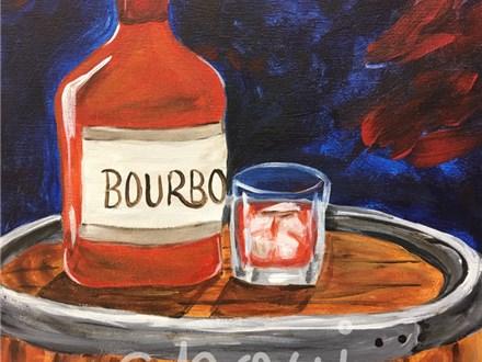 Bourbon Canvas Painting Event