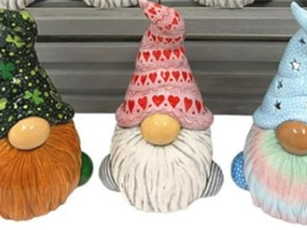 Gnome Painting Party: Saturday, March 7th 6:00PM-9:00PM