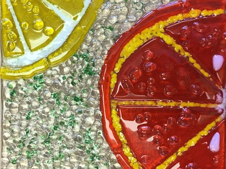 Fused Glass - Citrus Slices - 06.06.17