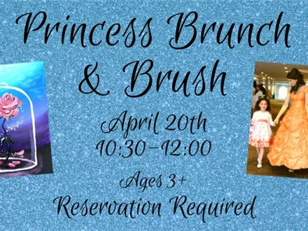 Princess Brunch & Brush