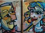 Picasso Couple