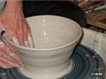 Pottery Wheel Class (Tues. midday Fall 2017)