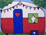 Happy Camper Canvas
