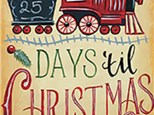 Canvas - Days Til Christmas - 12.01.18