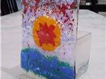 Glass Fusion Candle Holder Class
