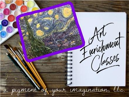 After School Art Enrichment Classes October