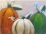 Paint Your Own Canvas Pack - Rustic Pumpkins
