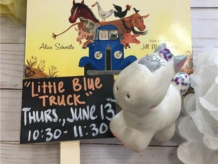 "Pre-K Story Time ""Little Blue Truck"""
