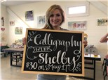 Calligraphy with Shelby