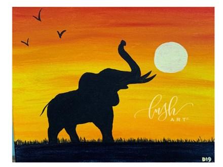 Elephant Paint Class