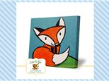 Kids Canvas - Friendly Fox - Friday, March 1