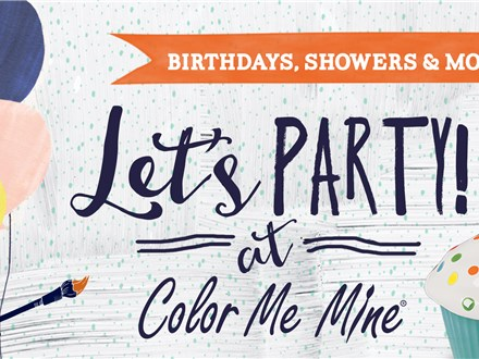 Party at Color Me Mine