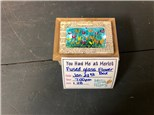 You Had Me at Merlot -  Fused Glass Flower Box - Jan 23rd