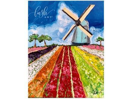 Tulip Field Paint Class