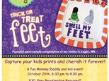 Oh Baby! Trick or Treat, Smell my Feet!