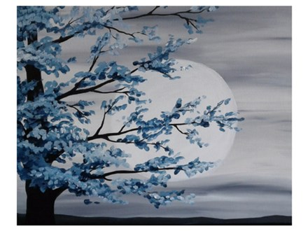 Moonlight Radiance - Paint & Sip - Aug 30
