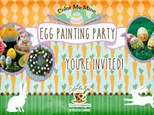 Annual Egg Painting Party - March 24, 2018 @ 9am