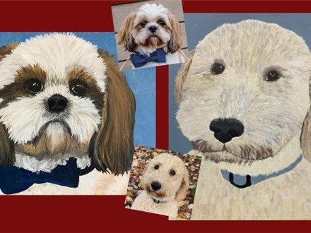Postponed - Paint Your Pet on Canvas - March 27th
