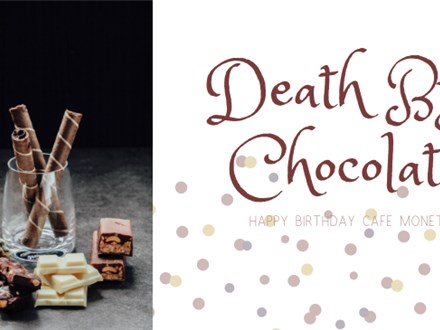 Death by Chocolate: Celebrate our 20th Birthday (Triangle)