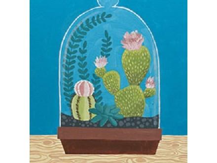 """Paint & Sip """"Cactus Cloche"""""""