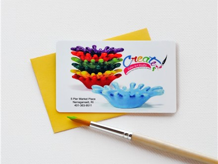 Gift Cards for Create! Color Art Studio